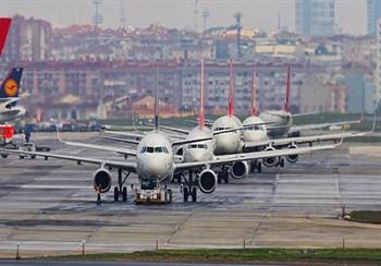 Так, в данный момент отменен рейс из стамбула, задерживаются прилеты самолетов из москвы и киева