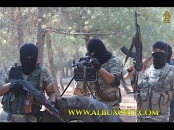 смотреть как бегут узбекский муджахети в сирии